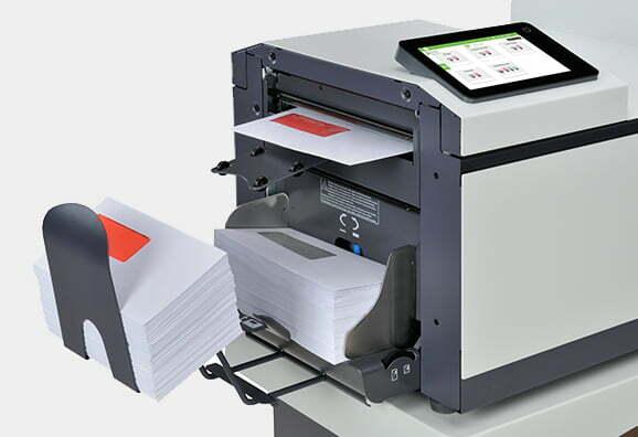 Kuverteringsmaskin FPi 2700 Detaljbild Feeder