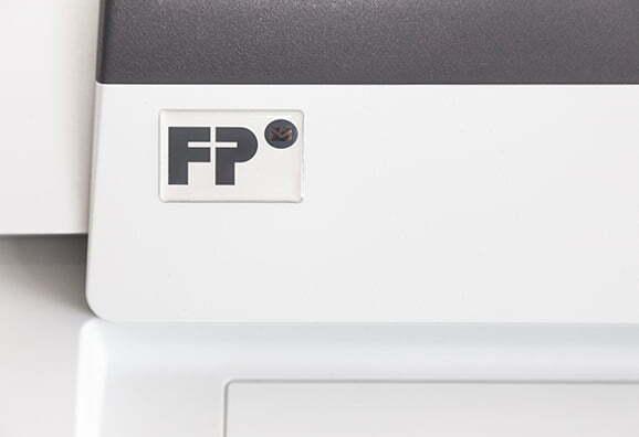 Kuverteringsmaskin FPi 625 Detaljbild Logo